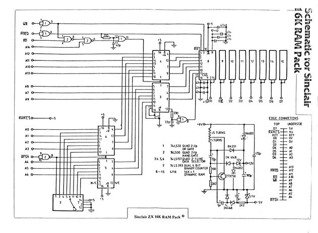 Schematics_Sinclair_ZX_16k_RAM_Pack