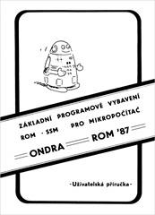 ONDRA_SSM-ROM-87_v27_obalka_titulka