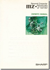 Sharp_MZ-700_Owners_Manual_cover_A4