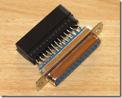 NOBOMI_Covox_adapter_for_Sharp_MZ-821_top
