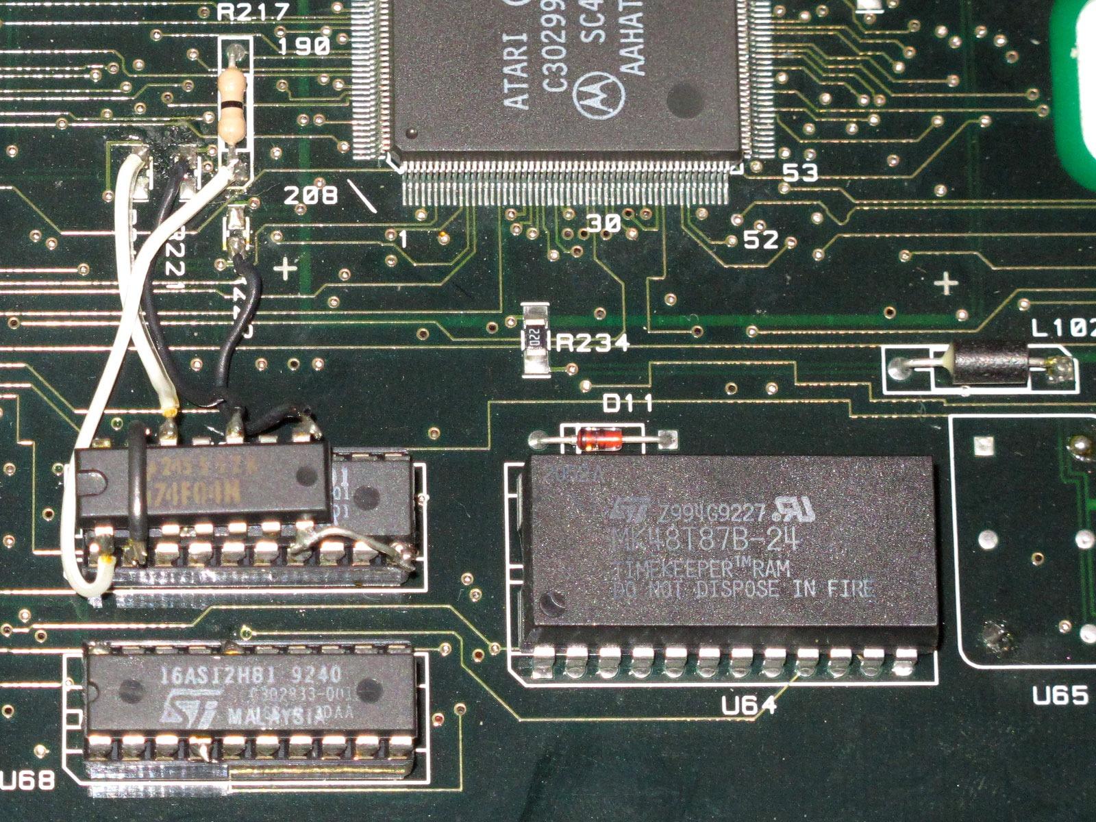 Bateriová náhrada RTC a NVRAM obvodu DS12887 (MK48T87