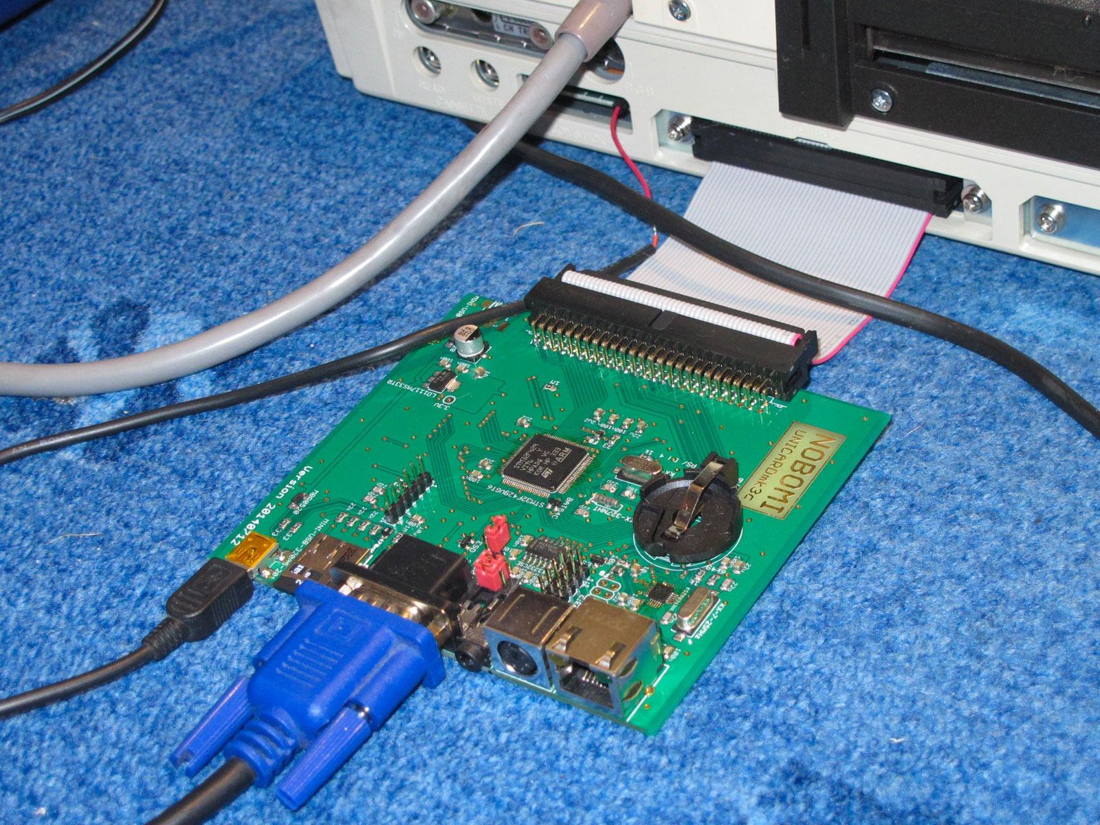 SHARP MZ-700 Unicard Mk3c (emulace QD, FD, RD, SUC80, K&P80, RTC, LAN, VGA, USB, RS-232 a snad i PCG, EMM, …)