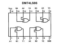 DM74LS86_vnitrni_zpojeni