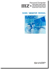 MZ2000_BASIC-MONITOR_cover