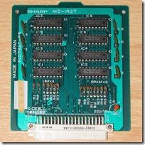 MZ-1R27_V-RAM-board