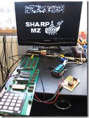 MK14_VDU_complete_with_SharpMZ